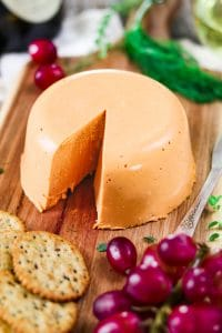 Vegan Cheddar Cheese.