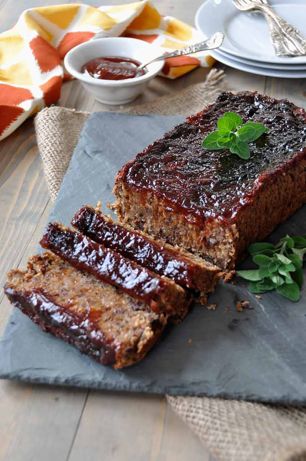 Smoky Southern Meatless Meatloaf.