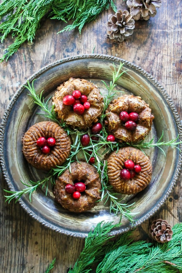 Mini Bundt Chestnut Roasts