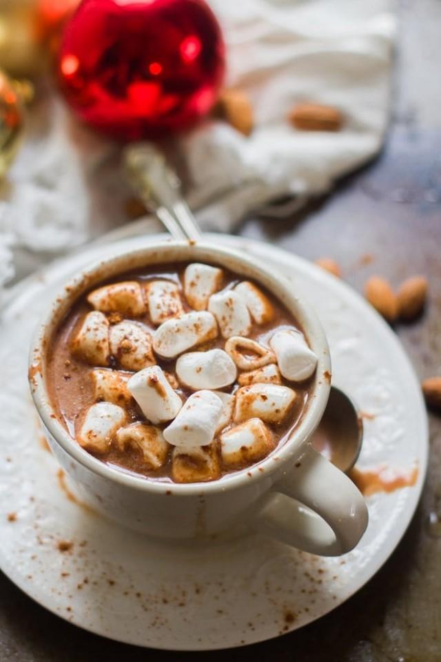 Rich & Creamy Vegan Hot Chocolate.