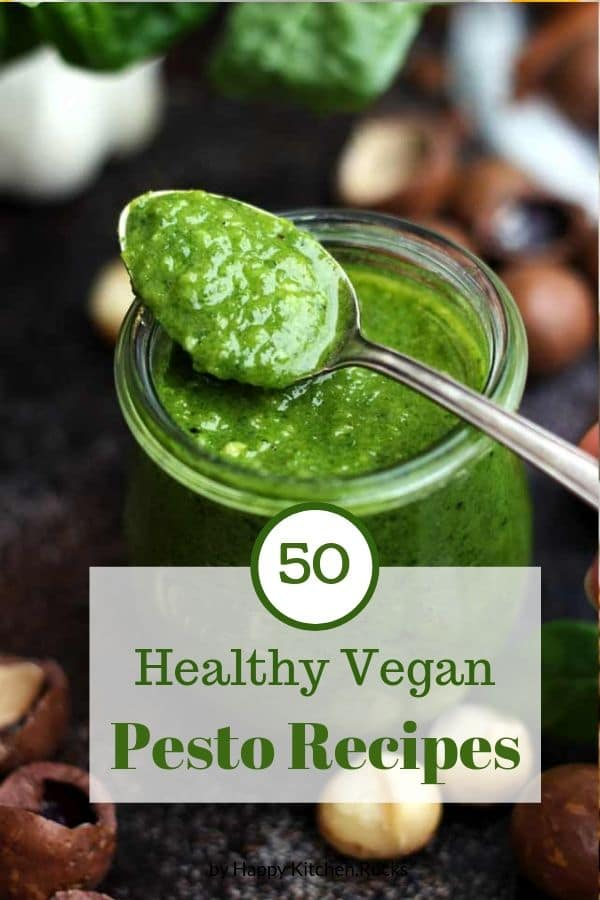 Pesto Recipes Roundup Pinterest Image