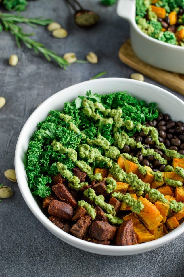 Sweet Potato Beet Buddha Bowl
