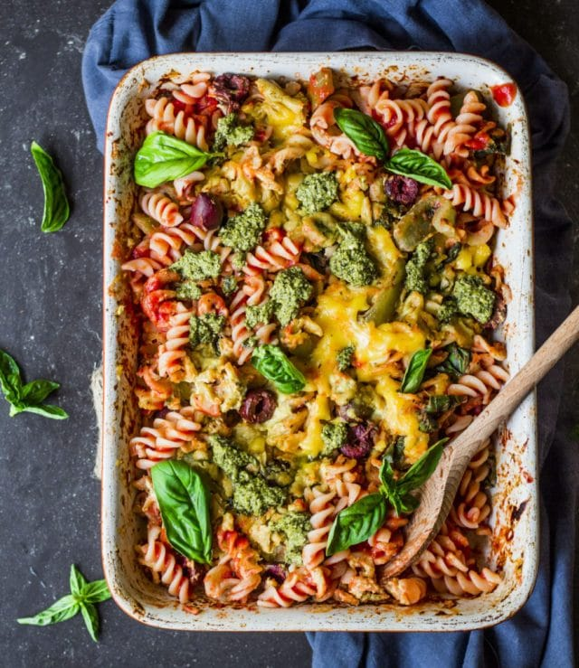 pizza-pasta-bake