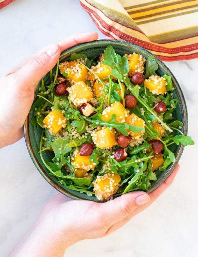 Fall Harvest Butternut Squash Salad
