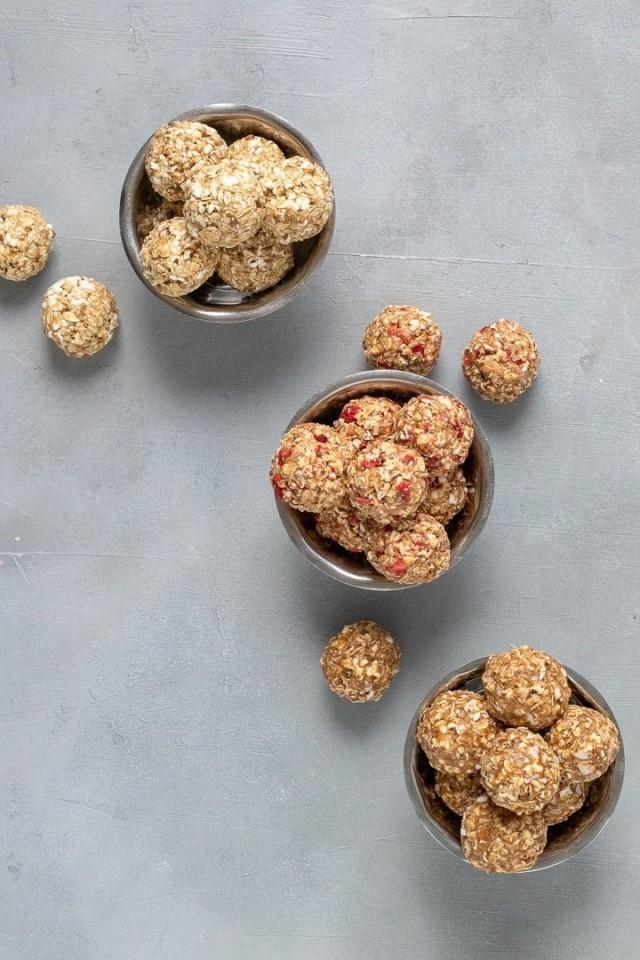 Popped sorghum balls