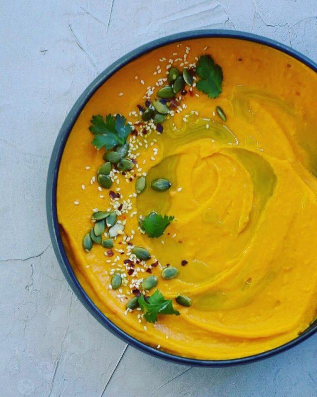 Smoked Pumpkin Hummus