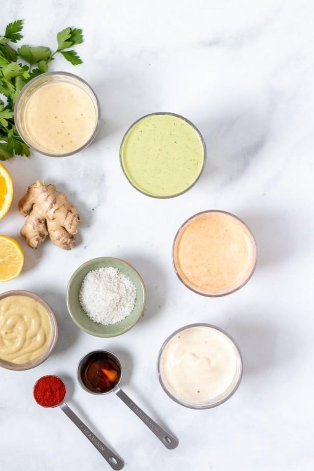 Tahini Salad Dressing (Five Ways)