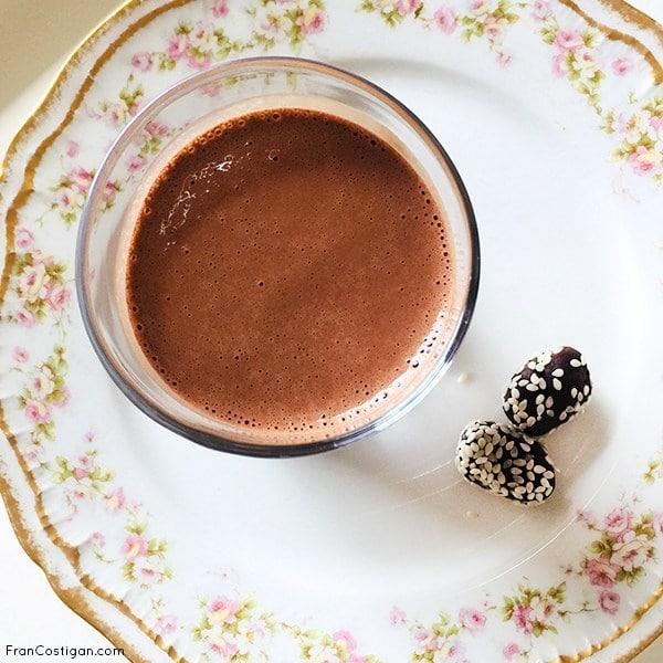 Tahini Mocha Milkshake