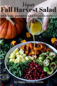 Harvest Salad with Maple-Dijon Dressing Pinterest