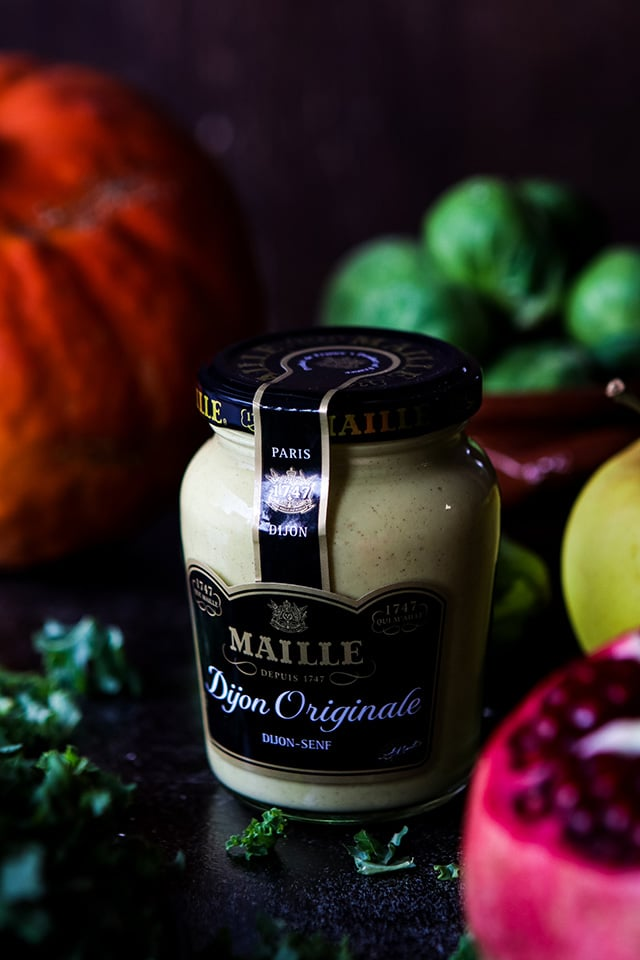 Maille DIjon Originale for Maple-Mustard Dressing