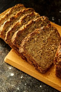 Wholemeal Bread Cut in Slices