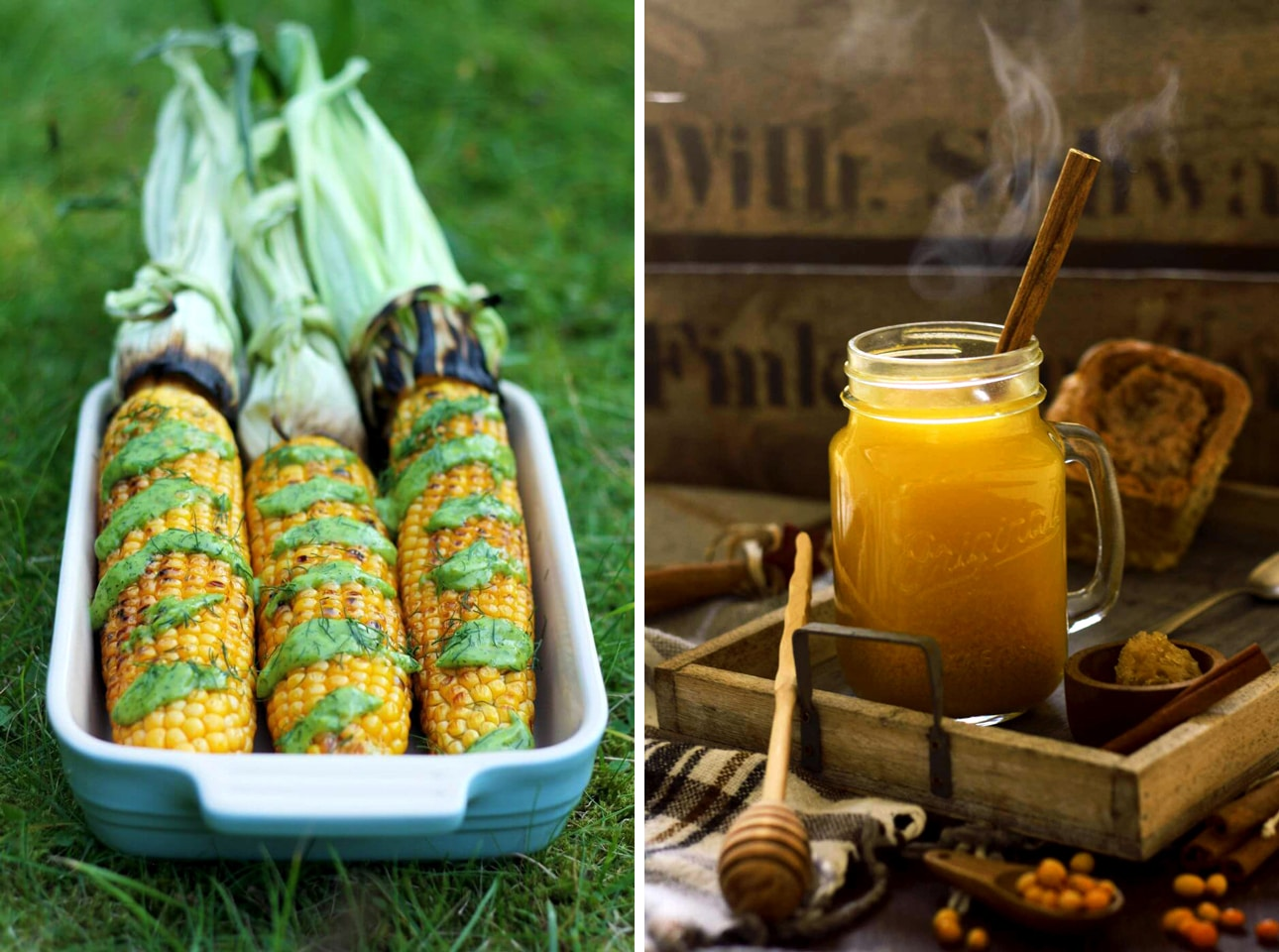 An Example of Analogous Colors in Food Photography