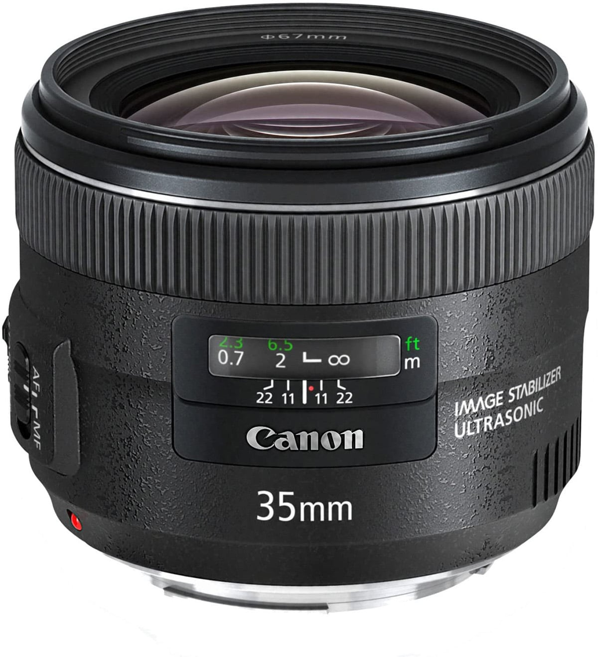 Canon EF 35mm f2 IS USM Wide Angle Lens