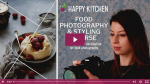 Video Food Photography Course Thumbnail YouTube